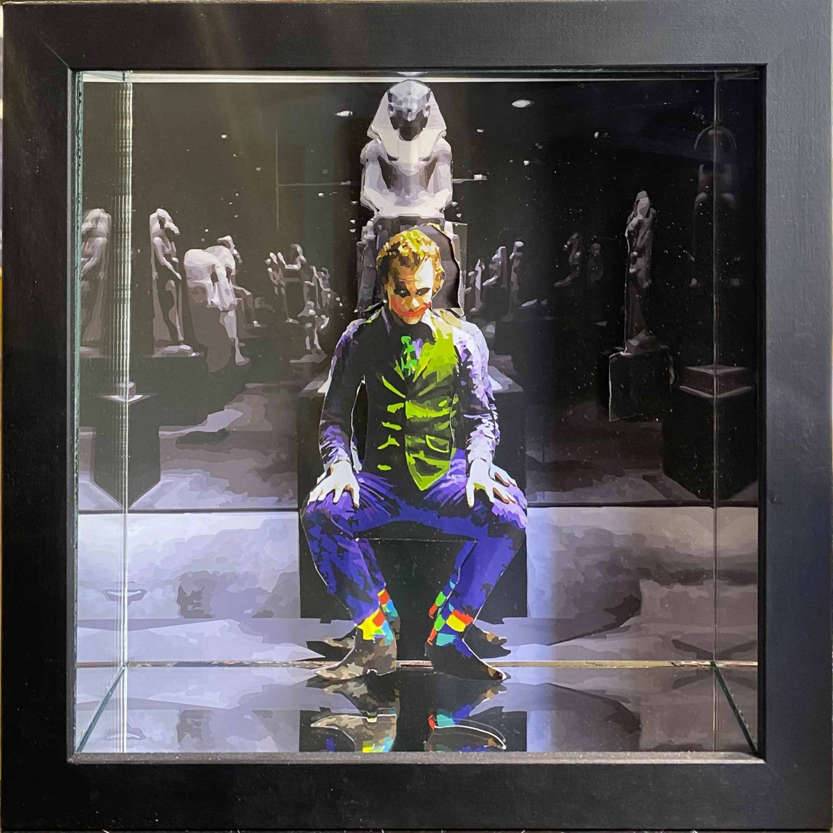 Joker al museo egizio