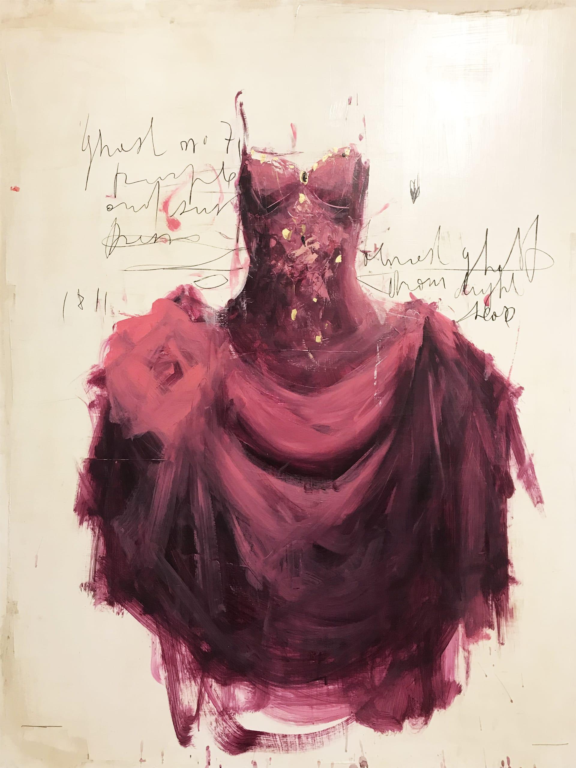 purple dress n.58
