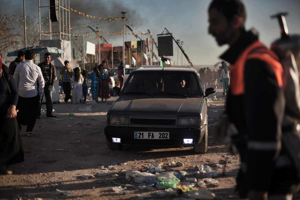 DARK CLOUDS OVER KURDISTAN (serie) Diyarbakır, Turchia sudorientale