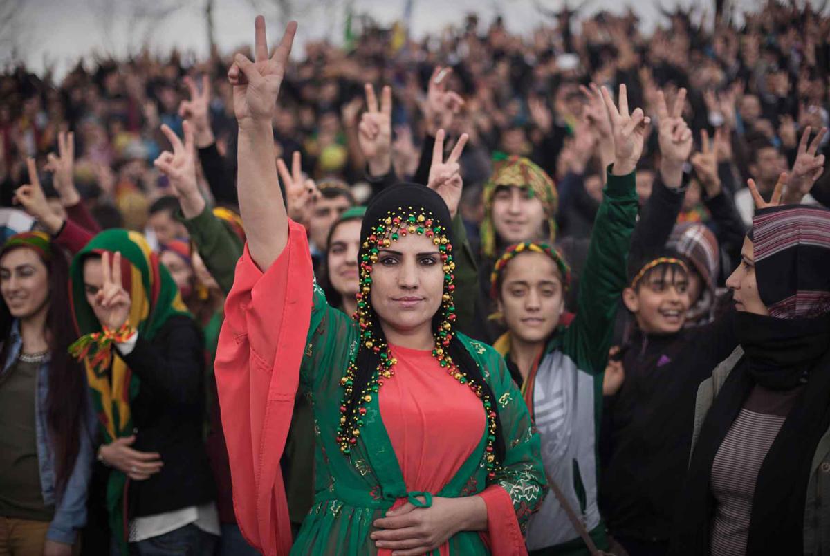 DARK CLOUDS OVER KURDISTAN II (serie) Diyarbakır, Turchia sudorientale