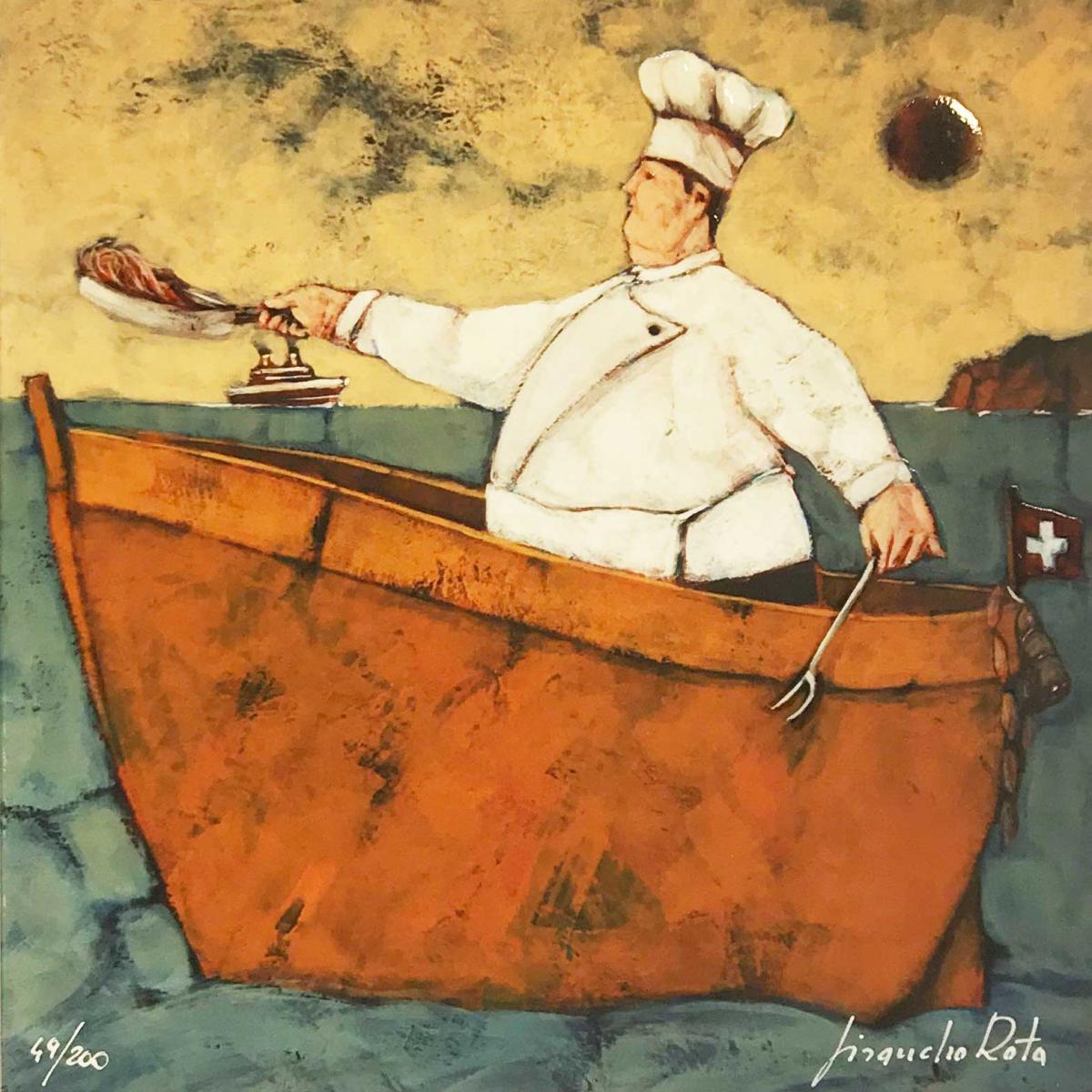il cuoco di bordo